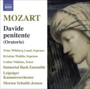 Morten Schuldt-Jensen: Mozart: Davide Penitente / Regina Coeli, K. 108 - CD