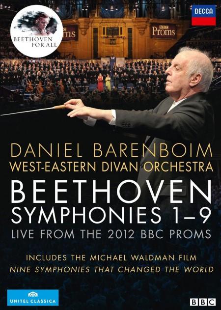 Anna Samuil, Daniel Barenboim, Michael König, René Pape, Waltraud Meier, West-Eastern Divan Orchestra: Beethoven: 9 Symphonies - Barenboim - DVD
