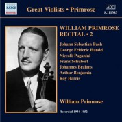 William Primrose: Primrose: Recital, Vol. 2 - CD