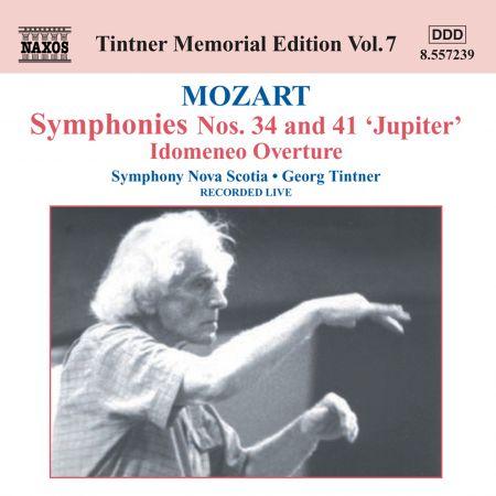 Symphony Nova Scotia: Mozart: Symphonies Nos. 34 and 41 - CD