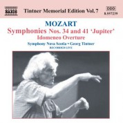 Symphony Nova Scotia: Mozart: Symphonies Nos. 34 and 41 - CD