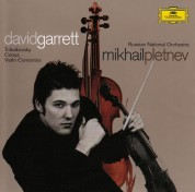 David Garrett, Mikhail Pletnev, Russian National Orchestra: Tchaikovsky/ Conus: Violin Concertos - CD