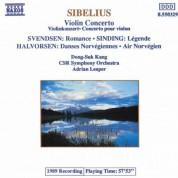 Sibelius: Violin Concerto / Sinding: Legende / Halvorsen: Norwegian Dances - CD