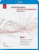 Radek Baborák, Berliner Philharmoniker, Daniel Barenboim: Europakonzert 2006 from Prague - BluRay