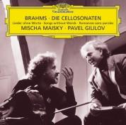 Mischa Maisky, Pavel Gililov: Brahms: Cellosonaten - CD