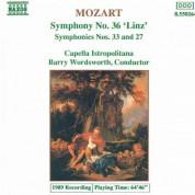 Capella Istropolitana: Mozart: Symphonies Nos. 36, 33 and 27 - CD