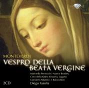 Marinella Pennicchi, Marco Beasley, Coro della Radio Svizzera Lugano, Concerto Palatino, I Barocchisti, Diego Fasolis: Monteverdi: Vespro Della Beata Vergine - CD
