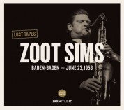 Zoot Sims: Lost Tapes (Baden-Baden 1958) - CD