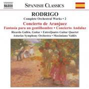 Ricardo Gallen: Rodrigo: Concierto De Aranjuez / Concierto Andaluz (Complete Orchestral Works, Vol. 2) - CD