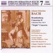 Cologne Chamber Orchestra, Helmut Muller-Bruhl: Bach: Brandenburg Concertos II - CD
