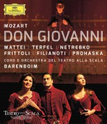 Peter Mattei, Bryn Terfel, Anna Netrebko, Daniel Barenboim: Mozart: Don Giovanni - BluRay