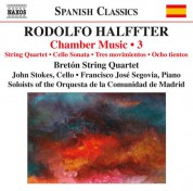 Breton String Quartet: Halffter: Chamber Music, Vol. 3 - CD