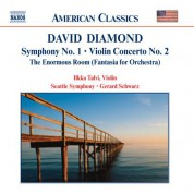 Diamond: Symphony No. 1 / Violin Concerto No. 2 / Enormous Room - CD