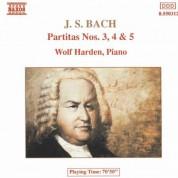 Wolf Harden: Bach: Partitas Nos. 3-5, Bwv 827-829 - CD