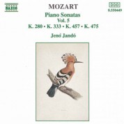 Jeno Jando: Mozart: Piano Sonatas, Vol. 5 (Piano Sonatas Nos 2, 13 and 14 - Fantasia, K. 475) - CD