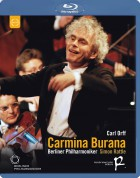 Sally Matthews, Lawrence Brownlee, Christian Gerhaher, Berliner Philharmoniker, Sir Simon Rattle: Orff: Carmina Burana - BluRay