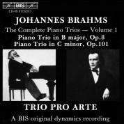 Trio Pro Arte: Brahms: Piano Trios, Vol.1 - CD