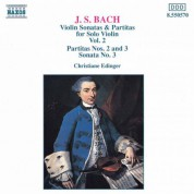 Bach, J.S.: Violin Sonatas and Partitas, Vol. 2 - CD