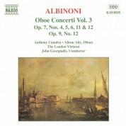 Albinoni: Oboe Concertos, Vol.  3 - CD