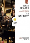 Martha Argerich, Royal Stockholm Philharmonic Orchestra, Yuri Temirkanov: Martha Argerich - Nobel Prize Concert 2009 - DVD