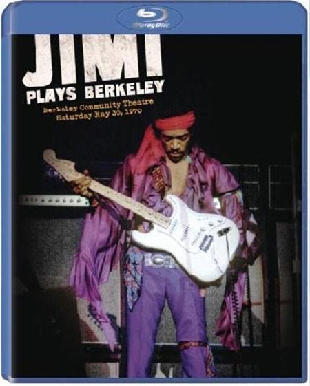 Jimi Hendrix: Jimi Plays Berkeley - BluRay