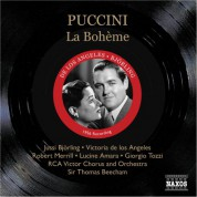 Thomas Beecham: Puccini: Boheme (La) (Bjorling, De Los Angeles, Beecham) (1956) - CD