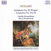 Mozart: Symphonies Nos. 29, 30 and 38 - CD