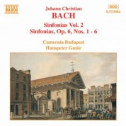 Bach, J.C.: Sinfonias, Vol.  2 - CD