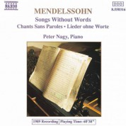 Péter Nagy: Mendelssohn, Felix: Songs Without Words, Vol. 1 - CD