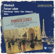 Anneliese Rothenberger, Marco Bakker, Adolf Dallapozza, Willi Brokmeier, Münchner Rundfunkorchester, Willy Mattes: Offenbach: Pariser Leben - CD