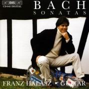 Franz Halász: J.S. Bach: Guitar Sonatas - CD