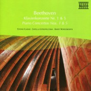 Stefan Vladar: Beethoven: Piano Concertos Nos. 1 and 5 - CD