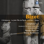 Sir Neville Marriner, Daniel Barenboim, Academy of St. Martin in the Fields, Orchestre de Paris: Bizet: L'Arlésienne; La jolie fille de Perth; Carmen - Suites; Symphony in C - CD