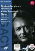 Phyllis Bryn-Julson, Boston Symphony Orchestra, Klaus Tennstedt: Mahler, Mozart: Sym. No.4, Sym. No.35 - DVD