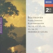 Friedrich Gulda: Beethoven: Piano Sonatas 14, 15, 17, 21-24 And 32 - CD