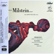 Nathan Milstein, Artur Balsam: Prokofiev, Handel, Vitali: Violin Sonatas & Chaconne - Plak