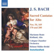 Bach, J.S.: Alto Cantatas, Vol. 1 - CD
