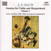 Bach, J.S.: Sonatas for Violin and Harpsichord, Vol.  1 - CD