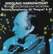 Concertgebouw Orchestr, Nikolaus Harnoncourt: Mozart: Symphonies No. 38 & 39 - CD