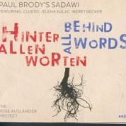 Paul Brody: Behind All Words - CD