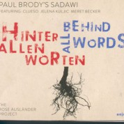 Paul Brody: Behind All Words - CD