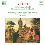 Viotti: Violin Concerto No. 23 / Sinfonie Concertanti - CD