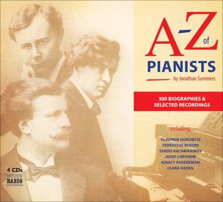 A To Z Of Pianists - CD