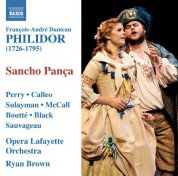 Ryan Brown: Philidor: Sancho Panca dans son isle - CD