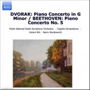 """Dvorak: Piano Concerto in G Minor / Beethoven: Piano Concerto No. 5, """"Emperor"""" - CD"""