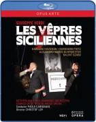Verdi: Les vêpres siciliennes - BluRay