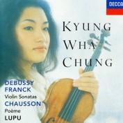 Kyung-Wha Chung, Royal Philharmonic Orchestra, Charles Dutoit: Franck / Debussy: Violin Sonatas / Chausson: Poeme - CD
