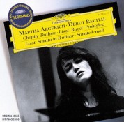 Martha Argerich - Début Recital - CD