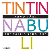 The Tallis Scholars: Part: Tintinnabuli - CD