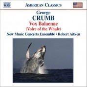 Robert Aitken: Crumb: Vox Balaenae / Federico's Little Songs for Children / 11 Echoes of Autumn - CD